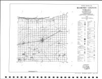 Kearney County Highway Map, Kearney County 1994
